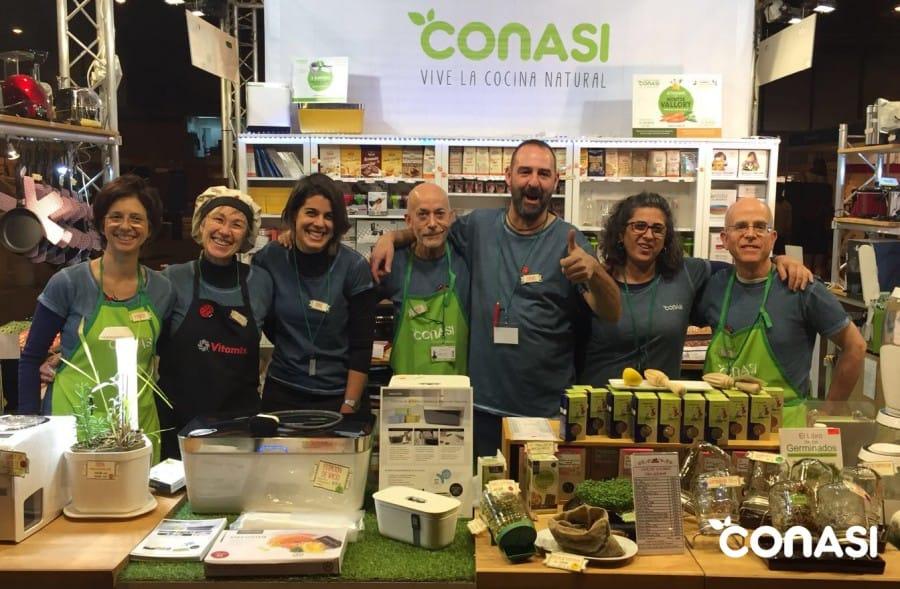 El equipo Conasi en Biocultura Madrid 17