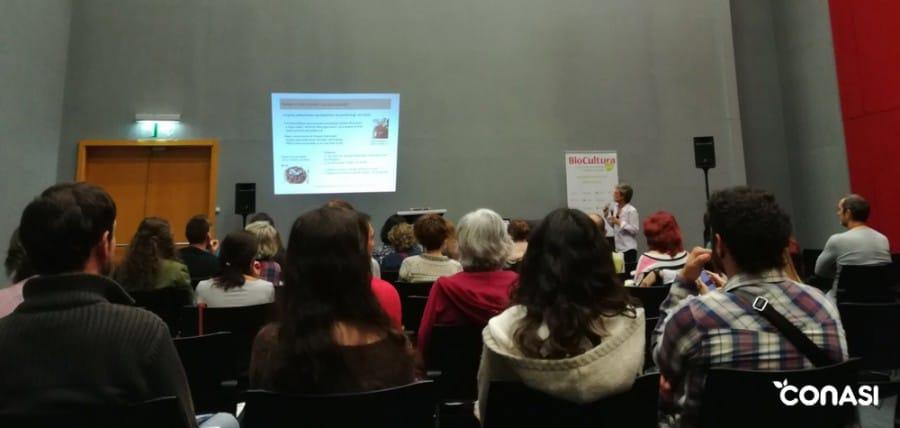 Conferencia de Montse Vallory sobre técnicas de transformación de los alimentos para un mayor provecho nutricional