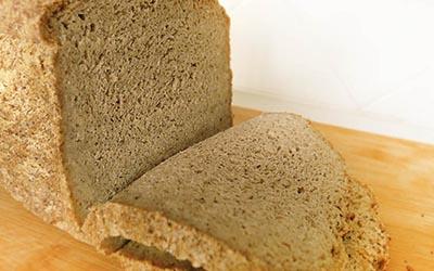 Pan sin gluten de sarraceno, arroz y masa madre