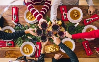 10 consejos para comer sano en Navidad