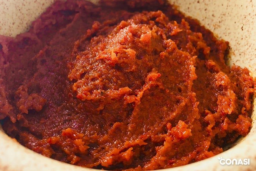 paté de tomate