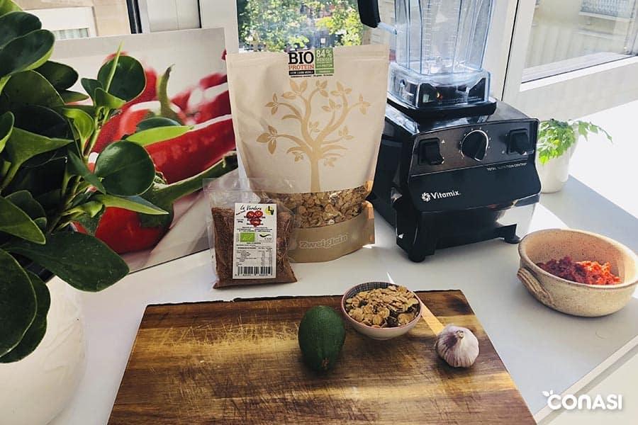 paté de tomate seco