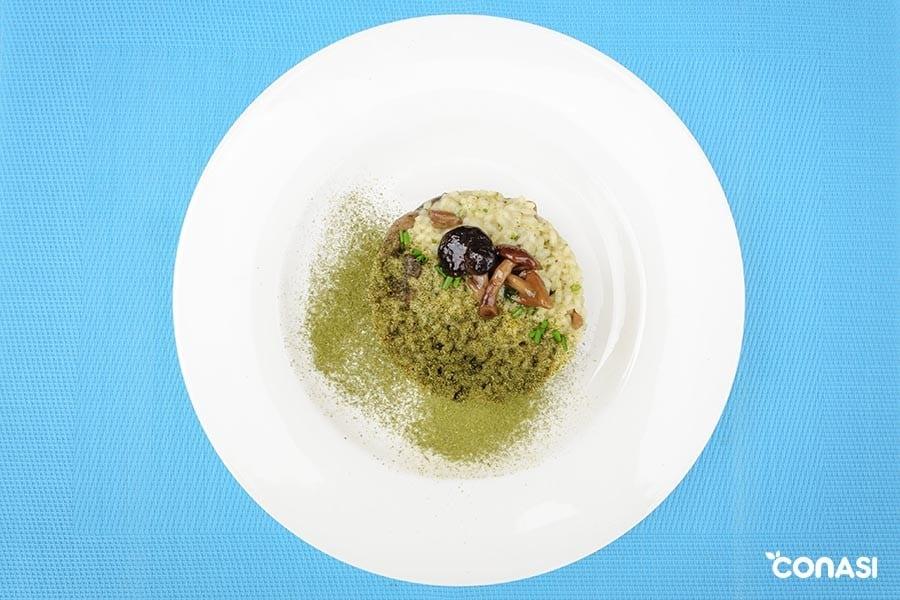 risotto de setas