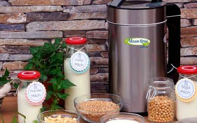 Veganstar active, maquina de leche vegetal
