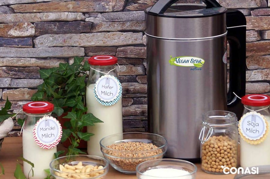 La nueva máquina de leche vegetal Veganstar Active