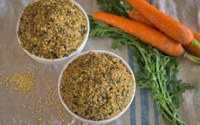 Paté vegetal de mijo