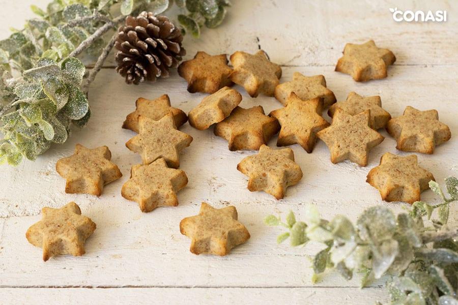 Estrellas de tahini, nuestras galletas navideñas