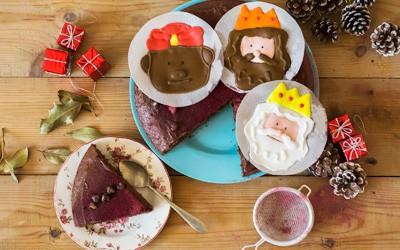 Tarta de los Reyes Magos Vegetarianos de Conasi