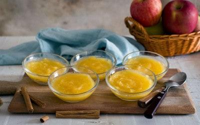 Agar-agar de manzana y orejones