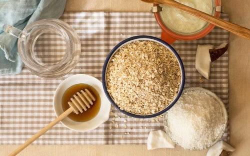 Yogur casero de avena y coco