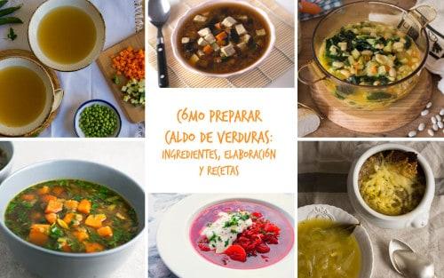 Cómo hacer caldo de verduras: ingredientes, elabor...