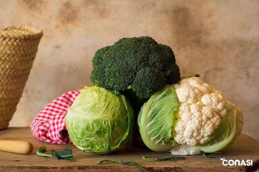 Coliflores y brócoli - Cómo cocinar las verduras crucíferas