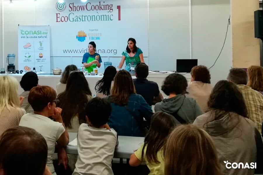 Conasi en Biocultura Barcelona - Showcooking