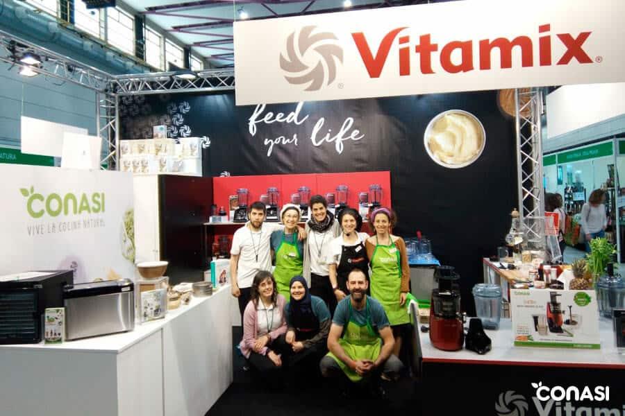 El equipo de Conasi en el stand de Biocultura Barcelona 2019