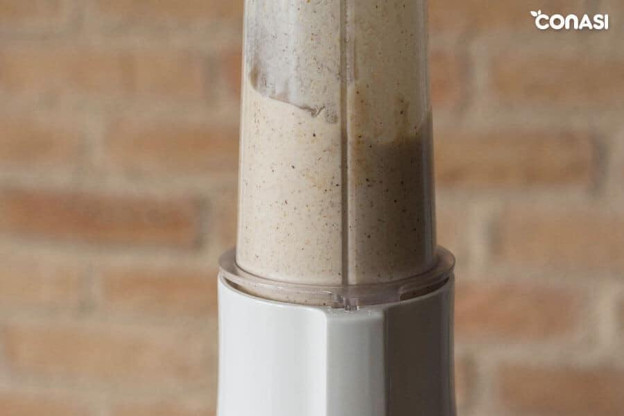 Avellanas molidas para hacer la crema de avellanas y cacao