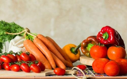 Cómo cocinar las hortalizas naranjas, rojas y amar...