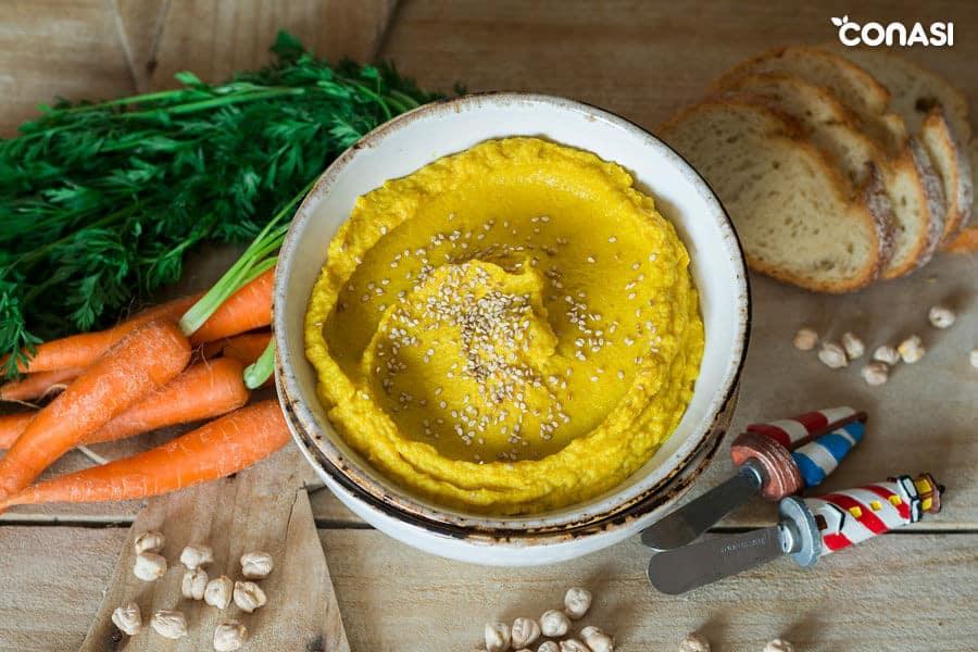 Hummus de zanahoria ? Biocultura Barcelona 2019