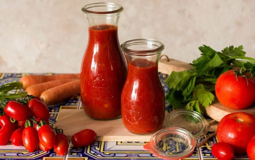 Salsa de tomate casera italiana