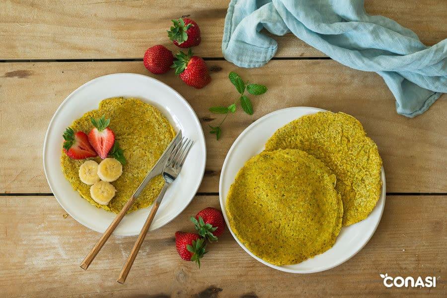 Tortitas veganas de avena ? Biocultura Barcelona 2019