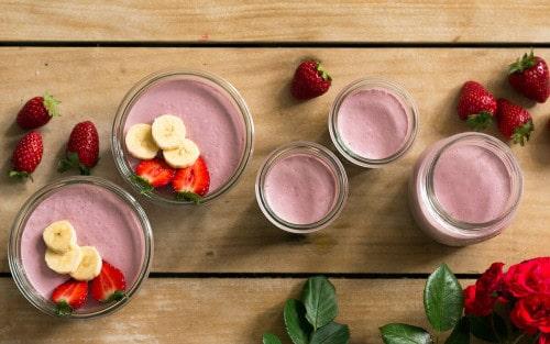 Natillas veganas de fresas – Biocultura Barc...