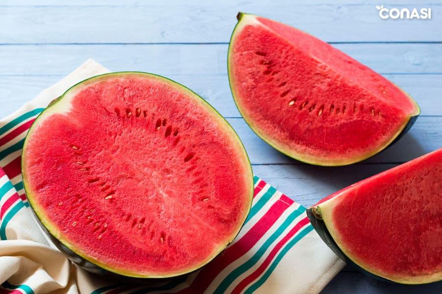 Propiedades de la sandía según la medicina china: fructus citruli