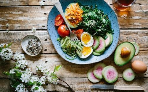 Tipos de dietas basadas en vegetales