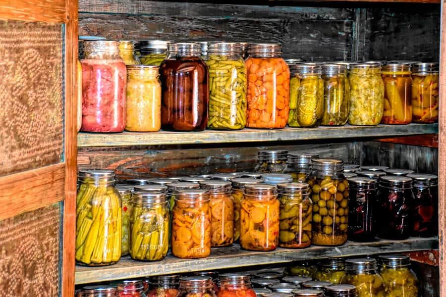 Estanterías con fermentados - Errores mas comunes al fermentar en casa