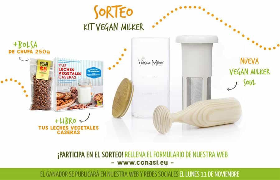 Participa y gana un pack de Vegan Milker