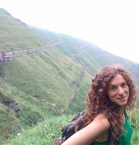 Irene Palma en los montes Pasiegos- Conasi