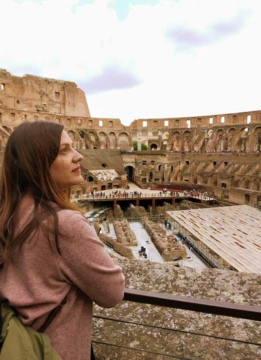 Mirian Garía en Roma - Conasi