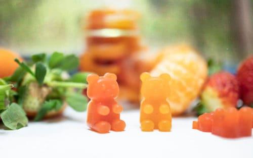 Gominolas caseras saludables y veganas