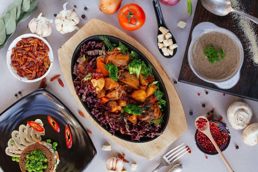 Dieta vegana equilibrada