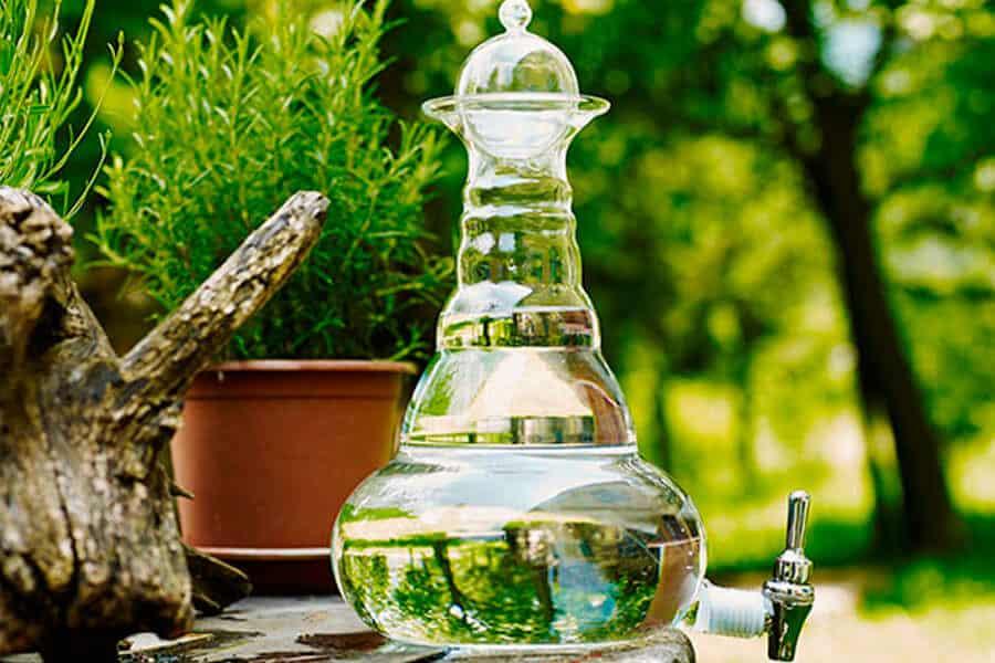 Jarra de vitalización del agua Nature's Design - Pan casero con masa madre
