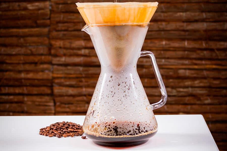 Cafetera jarra Brasil con filtro para café ecológico