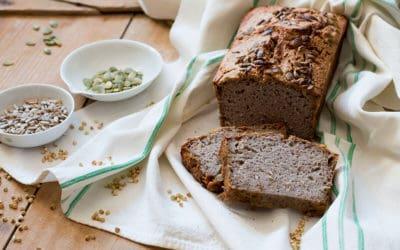 pan sin levadura de trigo sarraceno