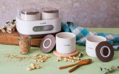 yogur vegano de anacardos y sarraceno activado