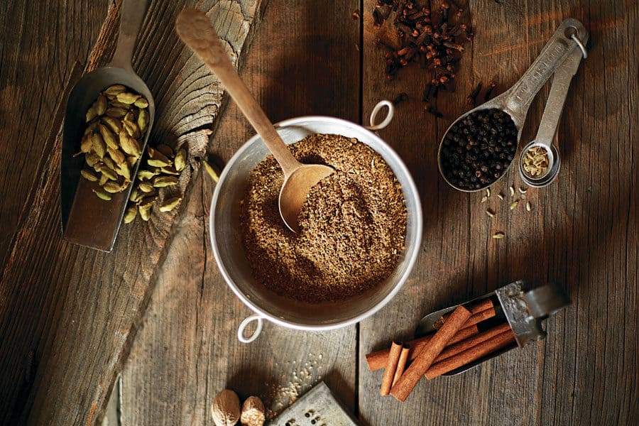 Ingredientes que forman la receta de Garam Masala