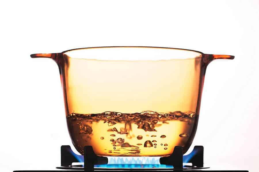 Olla de pyroceram Visions al fuego - Diferencia entre vidrio y cristal