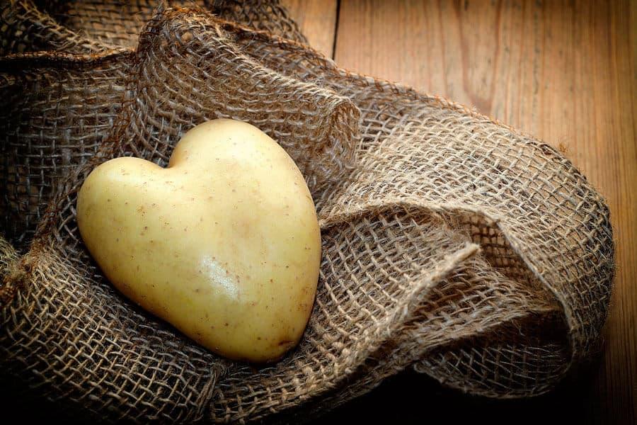 Patata en forma de corazón - Valor nutricional de la patata