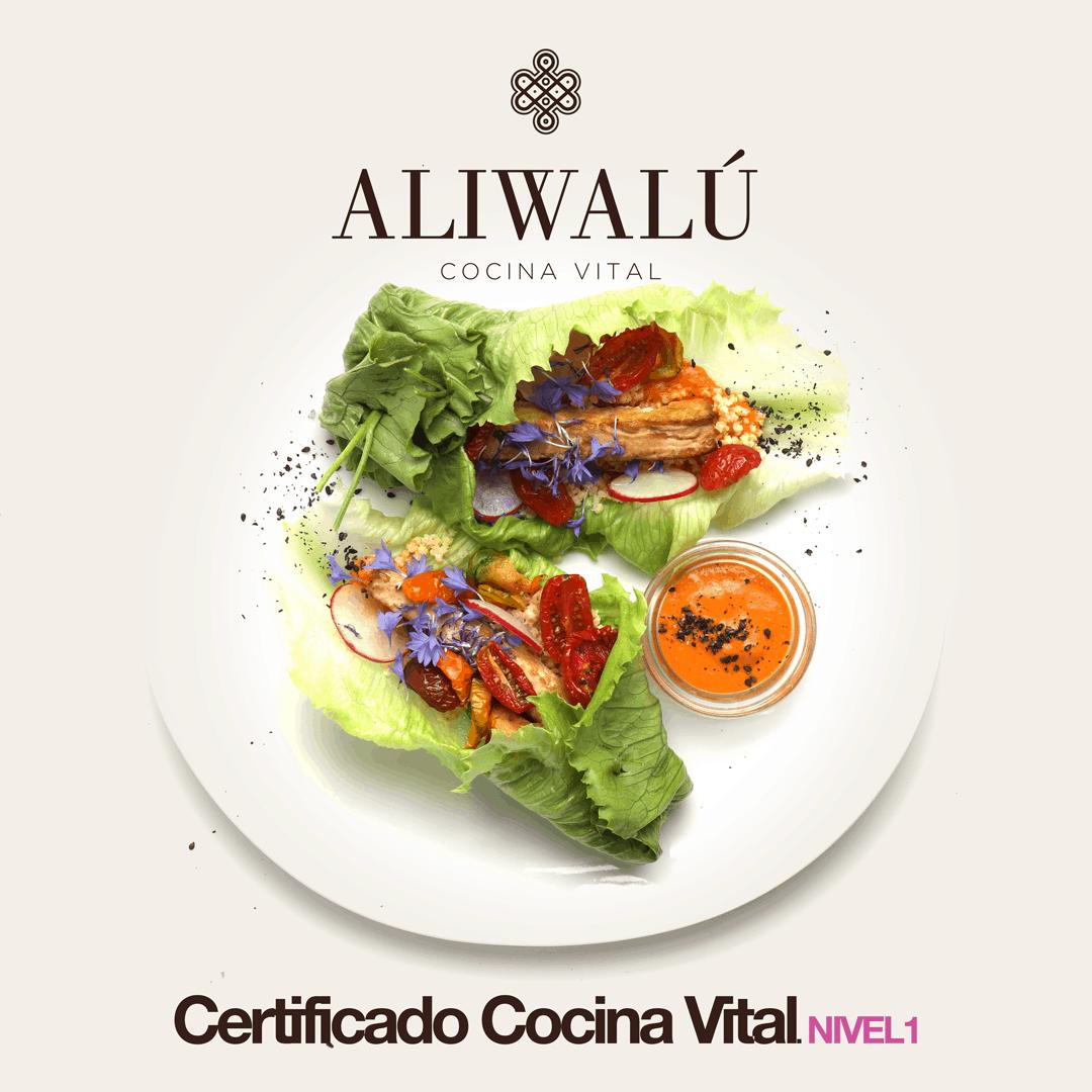 Un plato vegetal lleno de color creado por Aliwalú