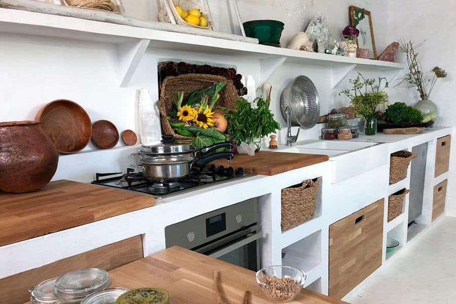 Ejemplo de una cocina Vital, cocina de Aliwalú