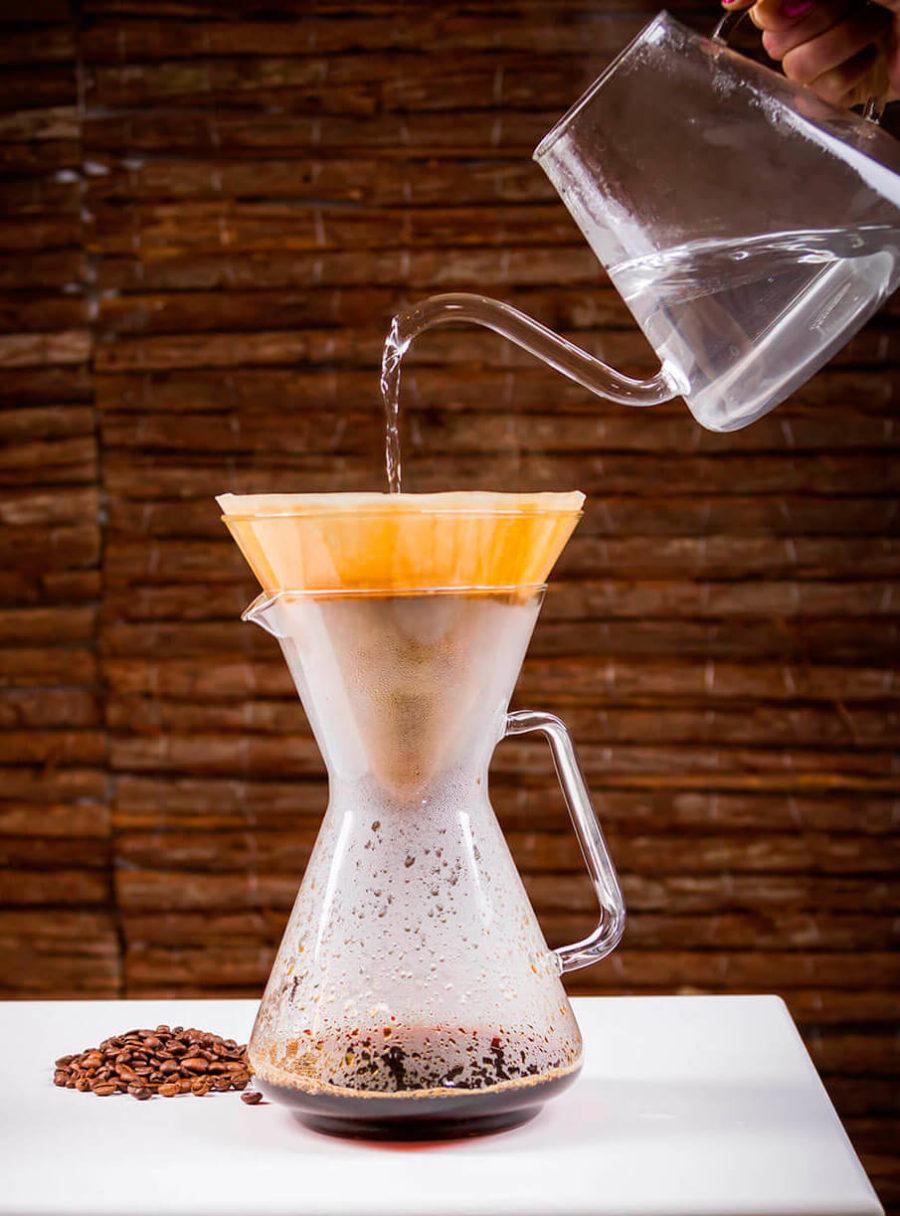 Café filtrado, café saludable