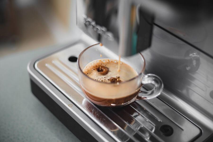 Máquina de café de cápsulas, preferible el filtrado, el mejor café