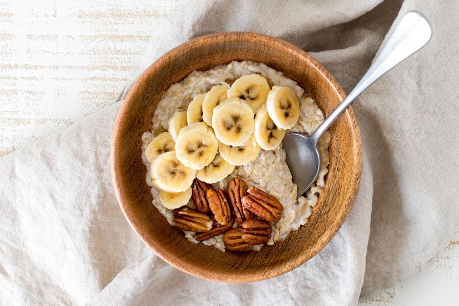 Receta del curso Alimentación anticáncer: porridge de avena