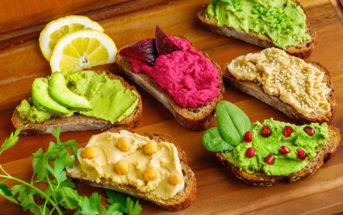 Patés veganos de kale y de kvass – Menú Vita...