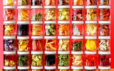 Cómo deshidratar frutas y verduras