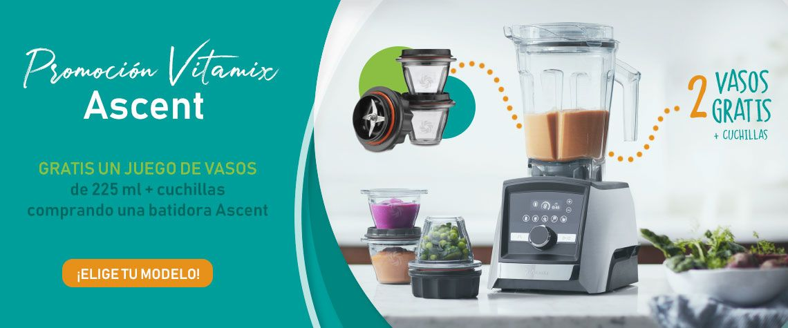 promo vasos vitamix ascent